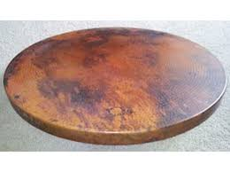 36 round table top p113700 copper round table top 36 mexican home decor online