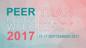 peer review week 2017 is all about transparency scienceopen