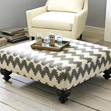 fabric ottoman coffee table oversized ottoman coffee table beay co
