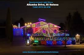 drive by christmas lights everydayhero allumba drive st helena christmas light display
