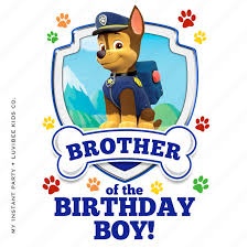 my birthday boy paw patrol of the by my instant party company on