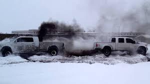 diesel jeep rollin coal 1200 horsepower donuts youtube