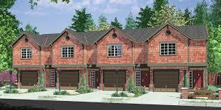 townhome designs sweet idea 9 divosta quad townhome plans 4 plex house plans