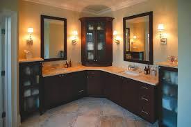 Corner Cabinet For Bathroom Storage Outstanding White Corner Bathroom Cabinet New Wooden Cabinets For
