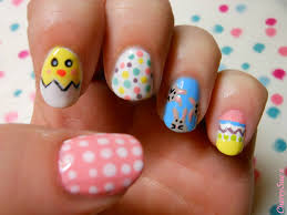 14 simple spring nail designs images peach nails with flowers