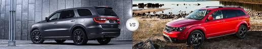 compare dodge durango 2017 dodge durango vs 2017 dodge journey what s the difference