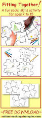 free puzzle piece template 25 best free puzzle ideas on pinterest free puzzle games free puzzle drawing sheets and directions provided for a fun social skills activity for children