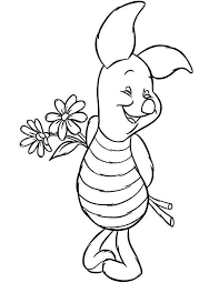 printable piglet coloring pages coloring