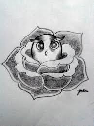 cute owl tattoo by jllvr on deviantart