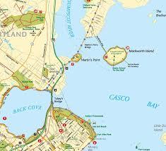 Map Of Portland Maine Martin U0027s Point Trail Portland Trails