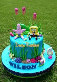 spongebob cake ideas spongebob themed cakes part 2 u2013 crustncakes