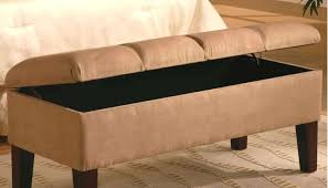 Upholstered Storage Bench Belham Living Cushioned Indoor Bench With Mirrored Frame Purple