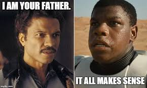 Lando Calrissian Meme - when there are only 3 imgflip