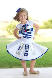 love it how to make a star wars r2 d2 costume for girls via make