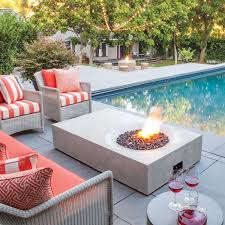 equinox outdoor fire table by brown jordan fires yliving