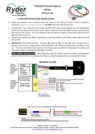 ryder 7 way bypass relay wiring diagram efcaviation com