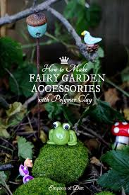 Easy Diy Garden Decorations Easy Diy Fairy Garden Decor Empress Of Dirt