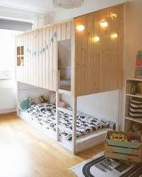 Ikea Beds For Girls by Ikea Kura Bed With Full Bed Under Girls Shared Room Pinterest