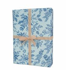 turquoise wrapping paper toile wrapping sheets by rifle paper co made in usa