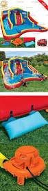 Backyard Bounce Water Slides 145992 Magic Time Twin Peaks Kids Inflatable Splash