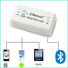 rgb led light controller dc12 24v max 12a bluetooth 4 0 wifi control via ios android smart