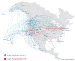 alaska air map alaska airlines eliminating the competition stock rover