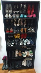 Ikea Billy Bookcase Shoes Gorgeous Bookcase Shoe Storage 10 Clever And Easy Ways To Organize