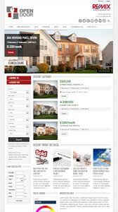 Real Estate Feature Sheet Templates by Opendoor Responsive Real Estate And Car Dealership By Buchmanndesign