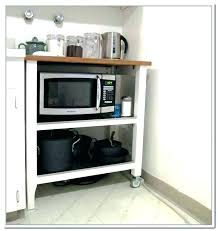 home design hack microwave stand with storage drawer in india cabinet hack cart home