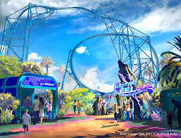 San Diego Attractions Map by Seaworld Announces New Eel Coaster For 2018 The San Diego Union