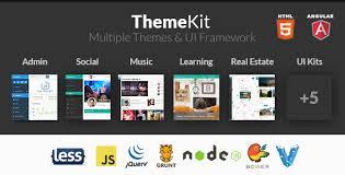 themekit bootstrap admin theme kit ui framework template site