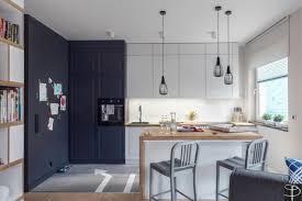 cuisine americaine appartement appartement moderne à gdansk en pologne cuisine ouverte le design
