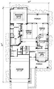 narrow lot house plans craftsman plan 31137d rustic craftsman cottage narrow lot house plans