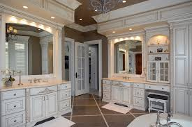White Bathroom Bathroom Eclectic With Gray Countertop Yellow Wall - Floor to ceiling cabinets for bathroom
