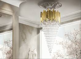 Sculptured Chandelier 5 Gold Chandeliers With Crystals To Light Up Your World