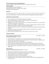 Nursing Objectives In Resume Operating Room Nurse Resume Free Resume Example And Writing Download