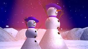snow girls merry christmas card 3d animation hd youtube