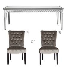 mirrored dining room table mirrored dining table sophie collection z gallerie alarqdesign com