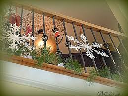 Christmas Lights For Stair Banisters Best 25 Banister Christmas Decorations Ideas On Pinterest