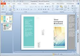 online brochure template free simple brochure templates for
