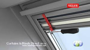 velux duo blind installation at www leadinginteriors com youtube