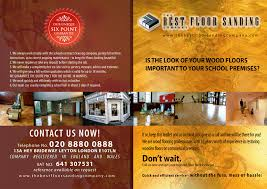 the best floor sanding company flyer design web design foundry