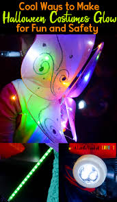 cool ways to make kids halloween costumes glow for fun and safety