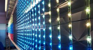 of the fivb led net