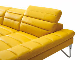 Modern Leather Sectional Sofa Modern Yellow Sectional Sofa Vg 4 Leather Sectionals