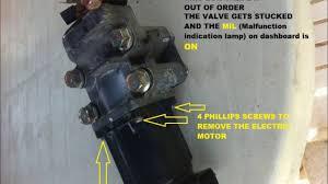 inside electric egr motor mitsubishi sportero new triton youtube