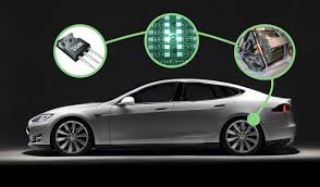 tesla electric car in a tesla model s there is no igbt packaging trick