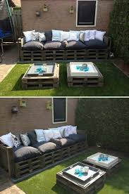 Outdoor Furniture Made From Pallets by 143 Best Pallet Eco Wood Images On Pinterest Wood Pallets And Diy