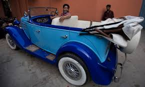 antique cars drive into the past with pakistan u0027s vintage car collectors