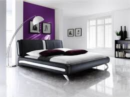 adda modern double king size faux leather beds black u0026 white bed